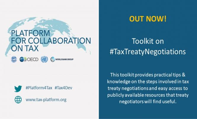 Tax Treaty Negotiations Toolkit is out now