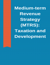 Cover page of the medium term revenue strategy: taxation and development - a speech by Vitor Gaspar, Director of the Fiscal Affairs Department, IMF