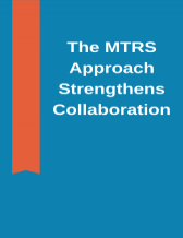 Cover page of the MTRS Approach strengthens collaboration - Appendix A of the PCT Progress Report 2018-2019