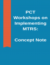PCT Workshops on MTRS Concept Note