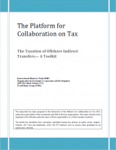 PCT Toolkit - The Taxation of Offshore Indirect Transfers